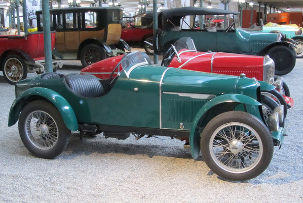 Amilcar Biplace Sport Type CGSS uit 1926 (Collection Schlumpf).