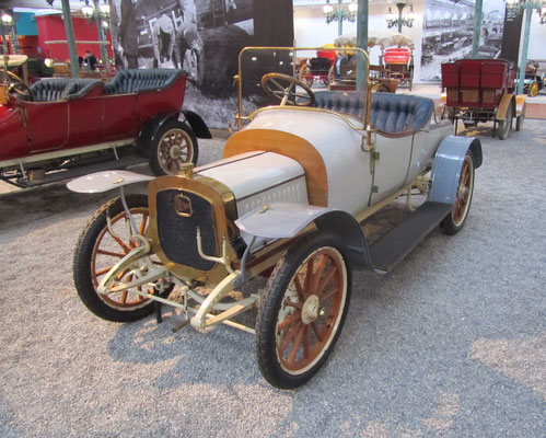 Delahaye Torpedo Type 28A uit 1908 (Collection Schlumpf).