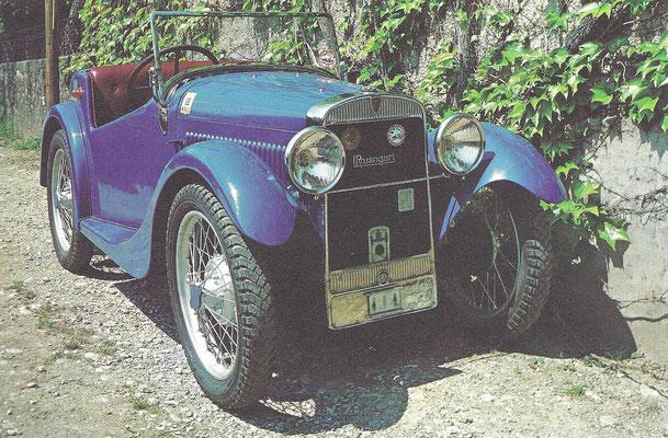 Rosengart Ariette uit 1928/1929.