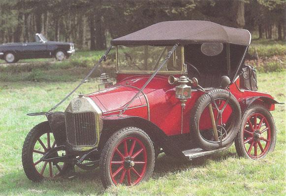 Le Zèbre type B uit 1914.