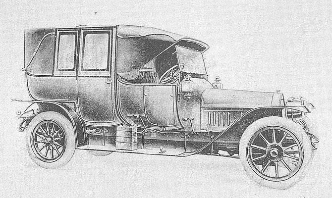 Een La Buire 8500 uit 1914.