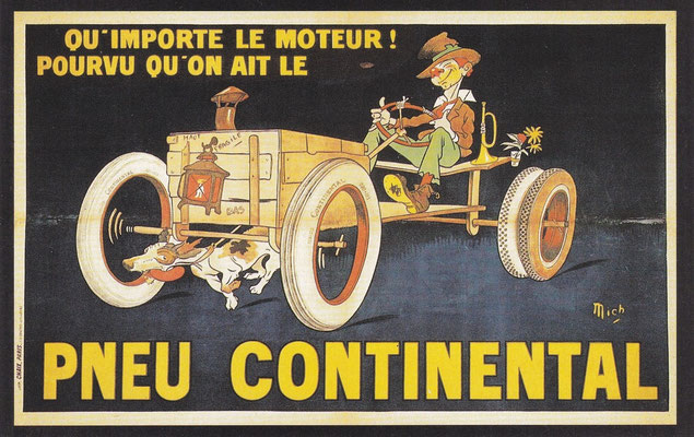 Michelin had vanaf het begin van haar bestaan hevige concurrentie van o.a. het Duitse Continental.