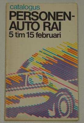 Catalogus Personen-auto RAI, 1981.