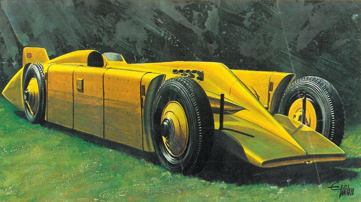 Irving-Napier-Lion Golden Arrow uit 1929.