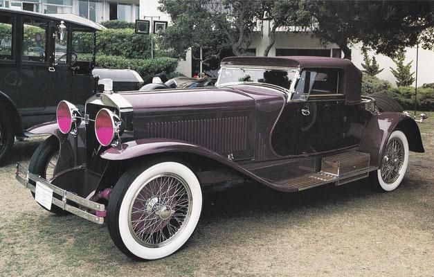 Isotta Fraschini 8ASS uit 1928 met een carrosserie van LeBaron.