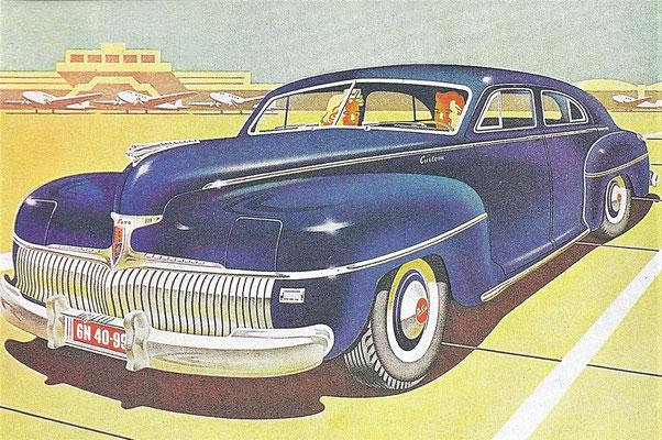 De Soto S10 Custom uit 1942.