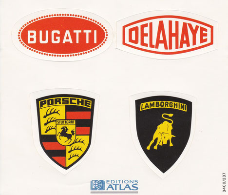 Stickers van Editions Atlas.