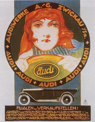 Reclame van Audi.