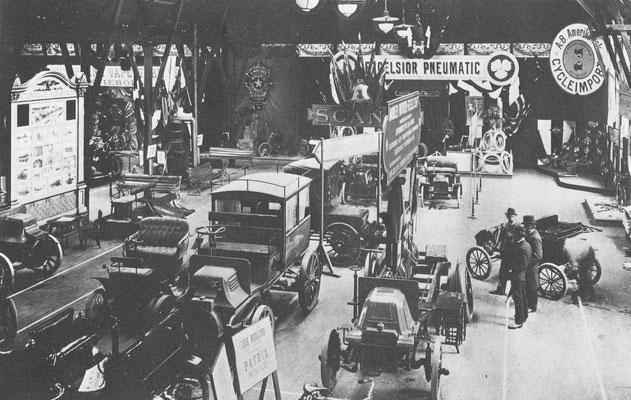 De eerste internationale automobieltentoonstelling in Zweden werd gehouden in 1903 in Stockholm.