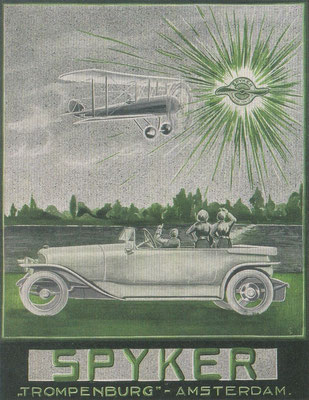 Poster Spyker.
