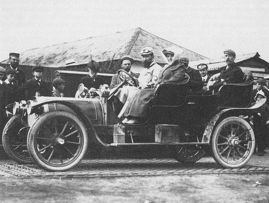 Delaunay Belleville 20hp viercilinder uit 1906/1907.