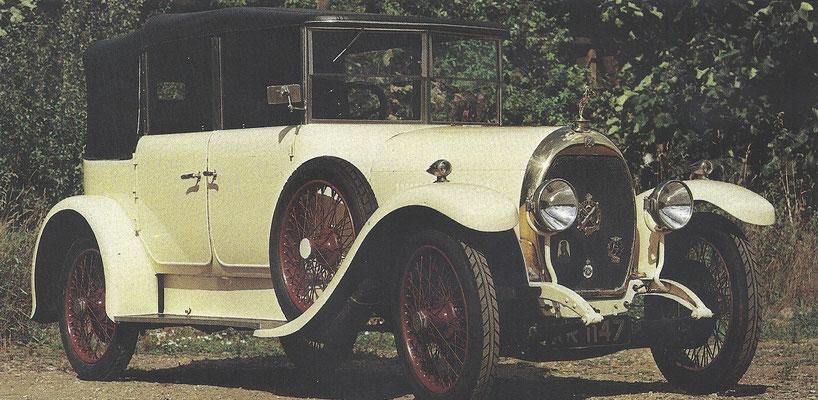 Een Hotchkiss AM uit de jaren '20.