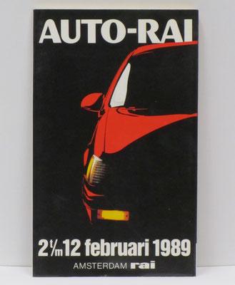 Catalogus Auto-RAI, Amsterdam, 1989.