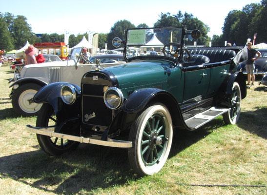 Buick 22-45 Touring uit 1921 (Concours d'Élégance 2018 op Paleis Het Loo in Apeldoorn).