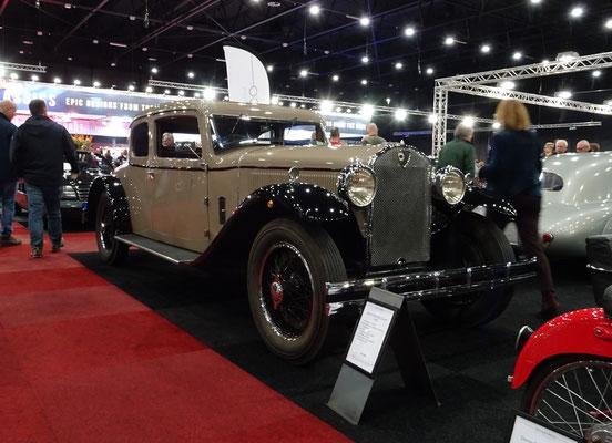 Lancia Dilambda Coupé uit 1929. (Interclassics Maastricht 2020)