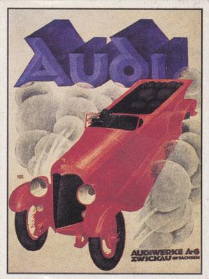 Affiche Audi.