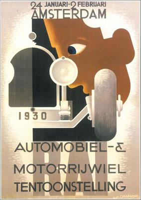 Een affiche voor de RAI 1930.