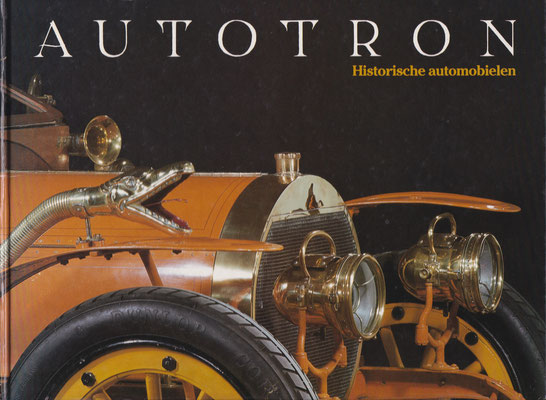 Catalogus voormalig (Lips) Autotron, eerst in Drunen en later in Rosmalen. De collectie auto's is destijds overgegaan naar het Nationaal Automobiel Museum / Louwman Collection.