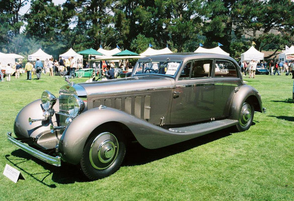 Hispano-Suiza J12, carrosserie door Fernandez & Darrin, Paris.