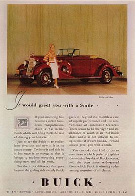 Een advertentie voor Buick.