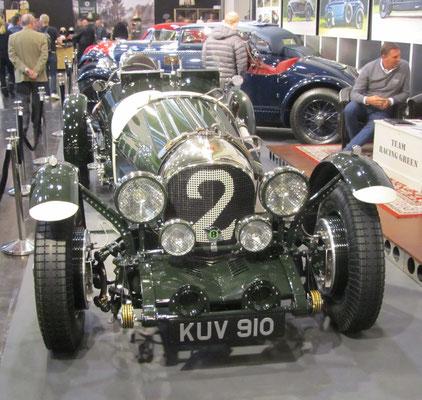Een Bentley op de Techno Bentley (Techno Classica in Essen)Classica in Essen.
