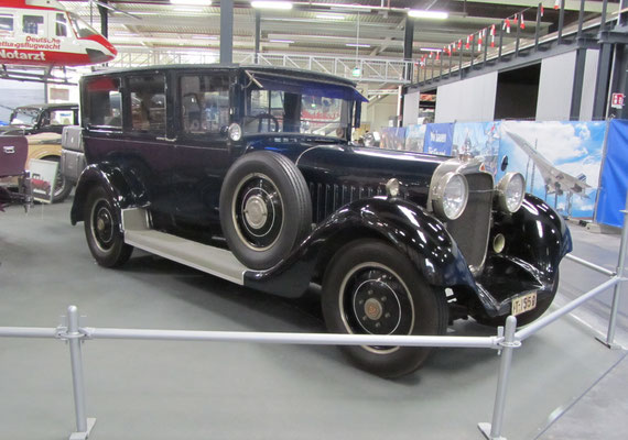 Maybach W5 SG uit 1928. (Technik Museum Sinsheim)