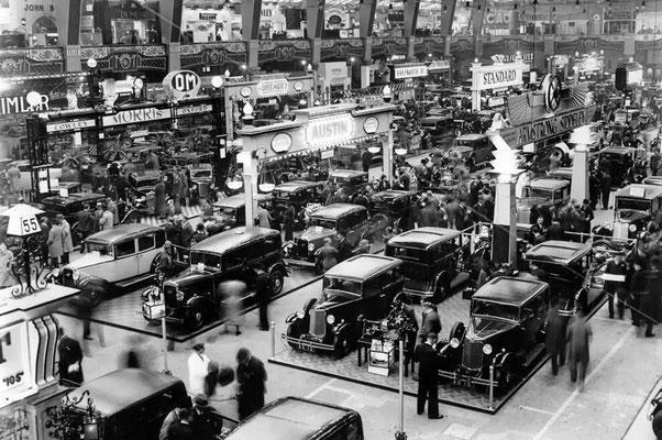London, Olympia, Motor Show, 1932.