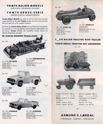 Folder Tomte uit 1966.