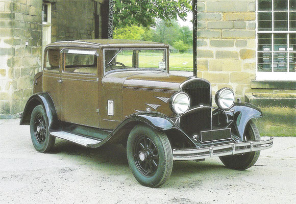 Chrysler Series 77 Crown Coupé uit 1930.