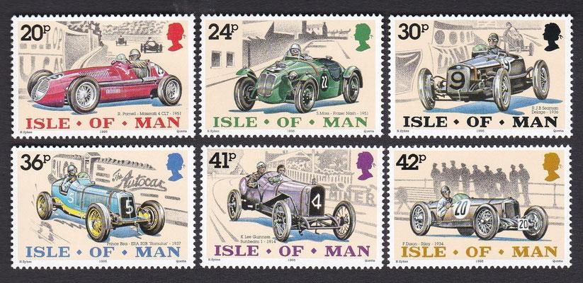 Postzegels Isle of Man uit 1995.