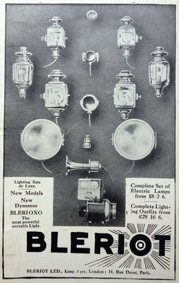 Advertentie Blériot, 1914