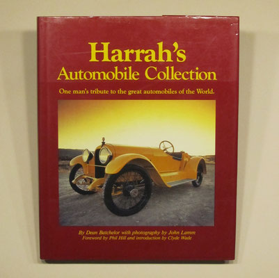 Boek Harrah's Automobile Collection. Dean Batchelor, 1984.