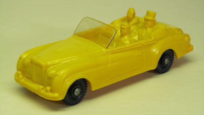 Bentley Convertible  uit 1960 met Winston Churchill en z'n vrouw Clementine, no.750/22 (1967-1978)