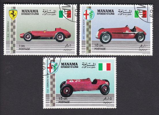 Postzegels Manama (Ajman, Verenigde Arabische Emiraten)