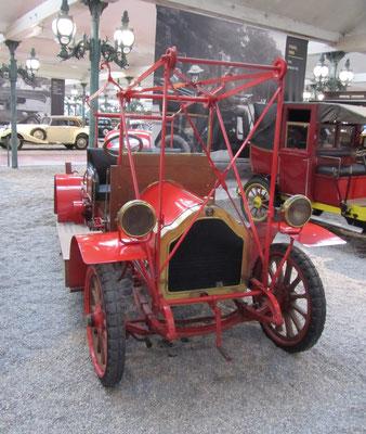 Lorraine Dietrich Fire Engine uit 1910, gebruikt in Lunéville (Collection Schlumpf).