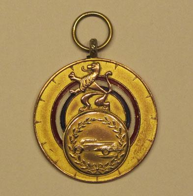 "Medaille, Kamp. Pr. 1955 M.C. ""De Veluwe""."