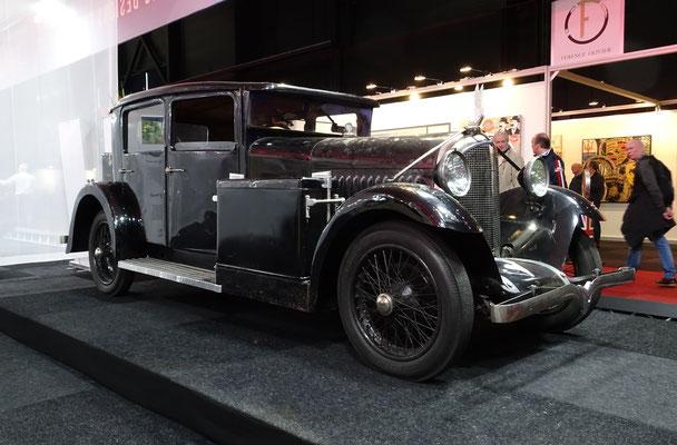 Voisin C14 uit 1930, ongerestaureerd. (Interclassics Maastricht 2020)