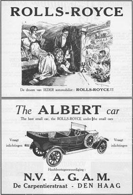 Advertentie van A.G.A.M.