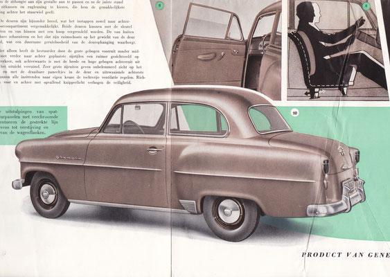 Brochure Opel Olympia Rekord.