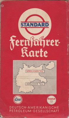 Fernfahrerkarte, Standard, Nördlicher und Südlicher Teil (vóór 1940).
