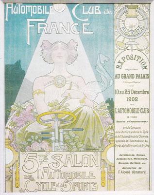 Affiche voor de Salon in 1902 in Parijs.