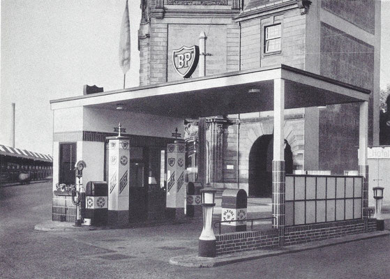 BP tankstation 1932.