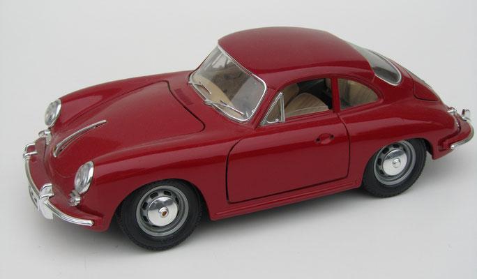 Porsche 356 B, 1961, Burago, schaal 1:18.
