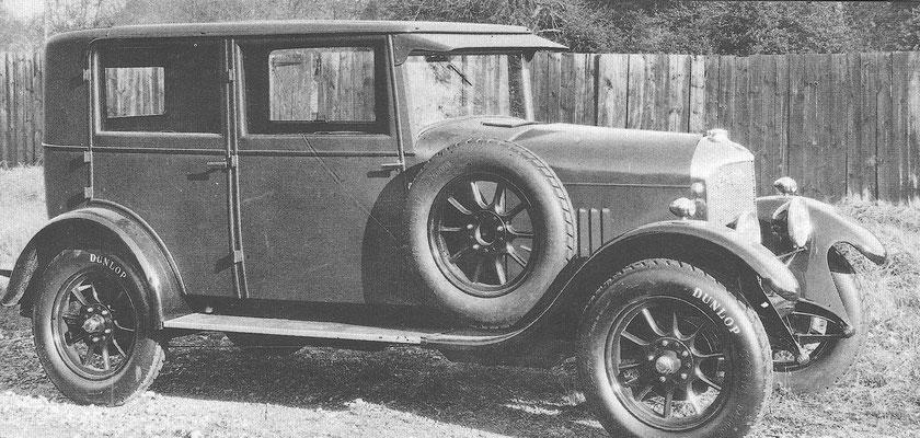 Een Imperia 11-22 HP uit 1924.