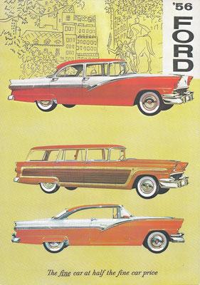 Reclame van Ford uit 1956.
