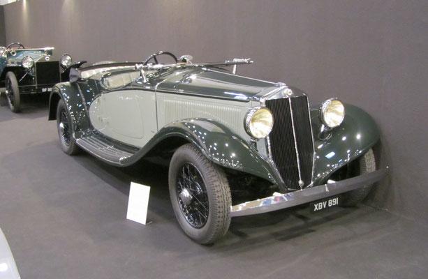 Lancia Astura 3e Series Short Chassis Torpedo Sport Viotti uit 1934. (Techno Classica Essen 2019)