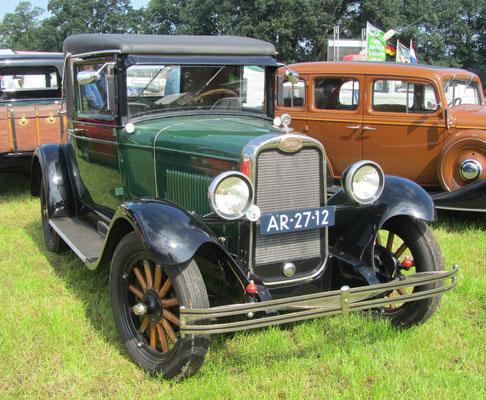 Een Chevrolet National AB uit 1928 op de oldtimerdag Saasveld 2016.
