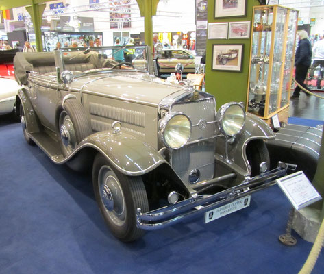 Horch 420 Sport Cabriolet. (Techno Classica 2015 in Essen)