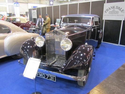 Een Rolls-Royce op de stand van Frank Dale. (Techno Classica 2013 in Essen)