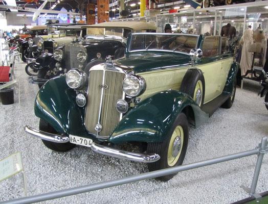 Horch 830 BL uit 1939. (Technik Museum Sinsheim)